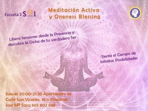 Meditacion activa semanal